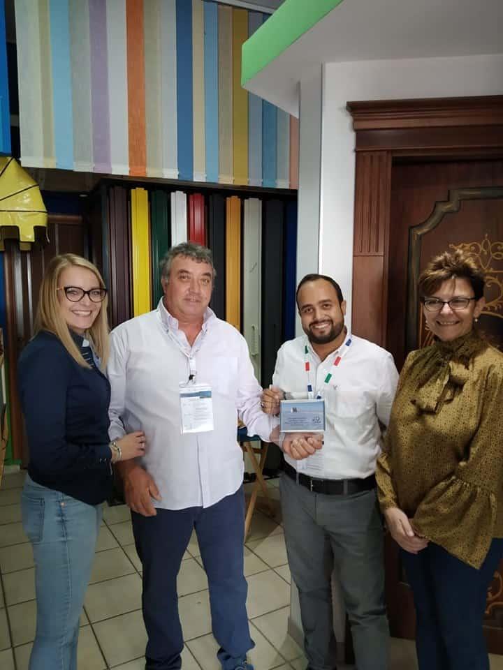 Imprenditori dagli Emirati Arabi visitano azienda di Ladispoli
