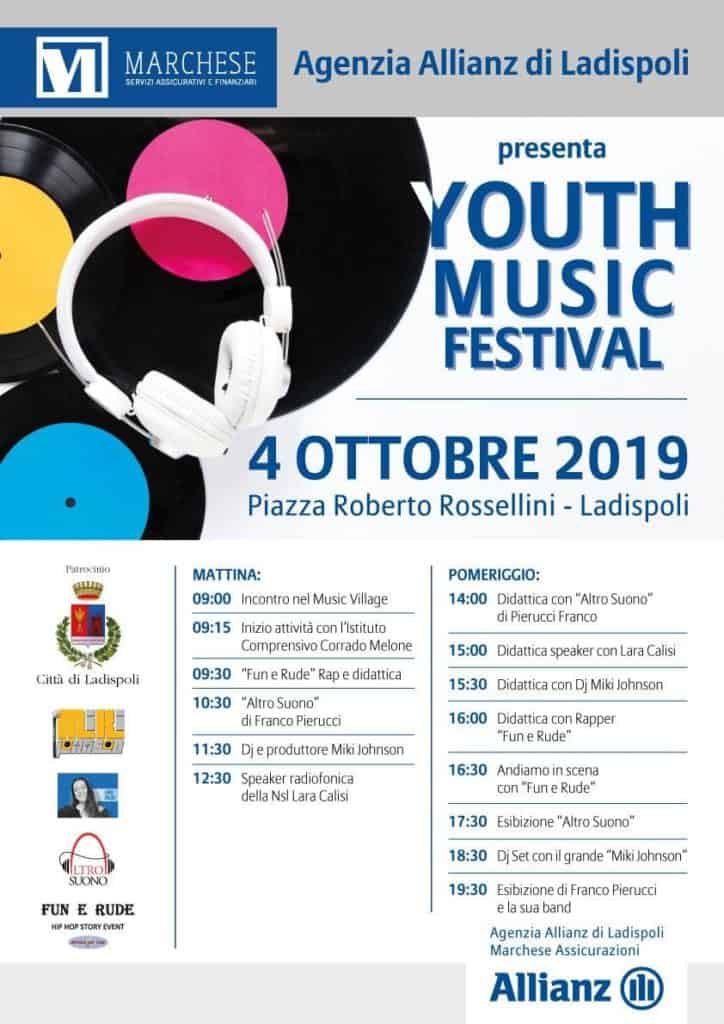 Ladispoli, arriva Youth Music Festival