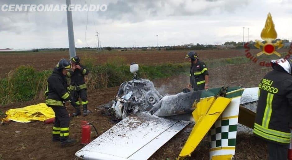 Anche il pilota ha perso la vita