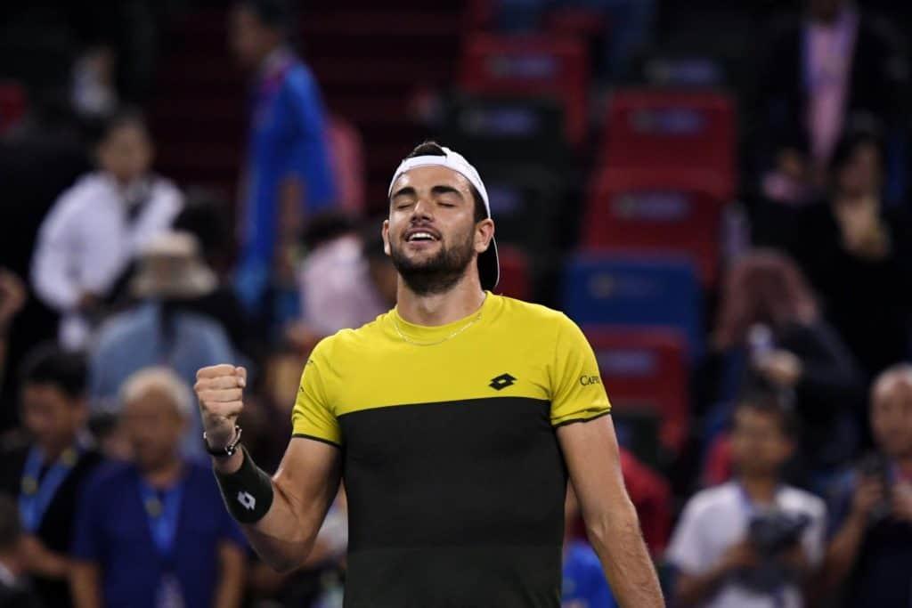 Tennis, Matteo Berrettini alle ATP Finals
