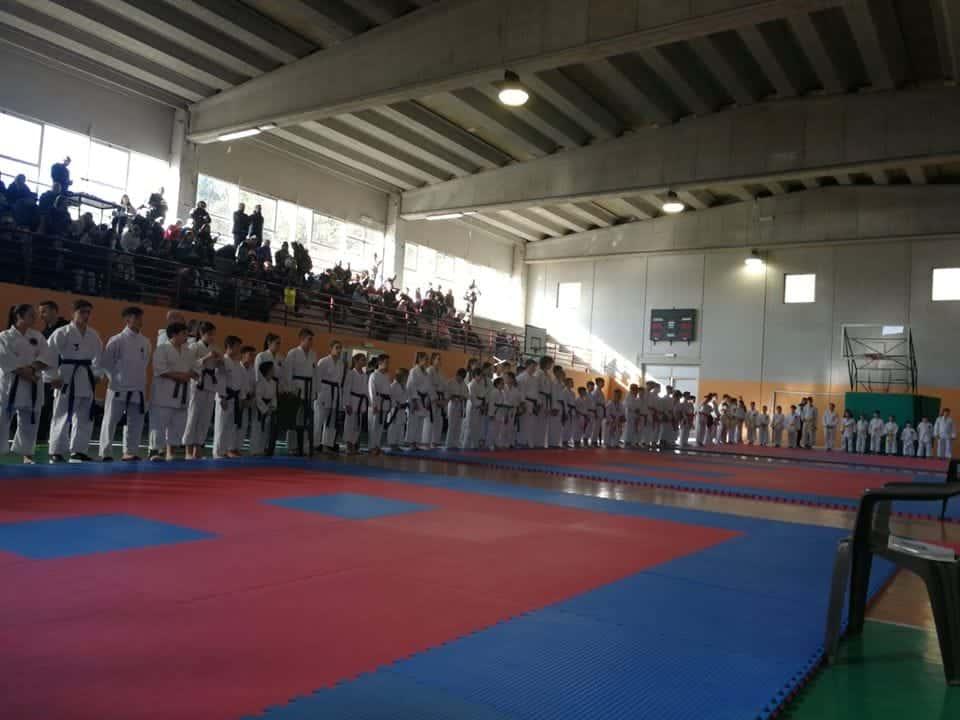 Tolfa capitale del Karate: successo straordinario per la Coppa Italia