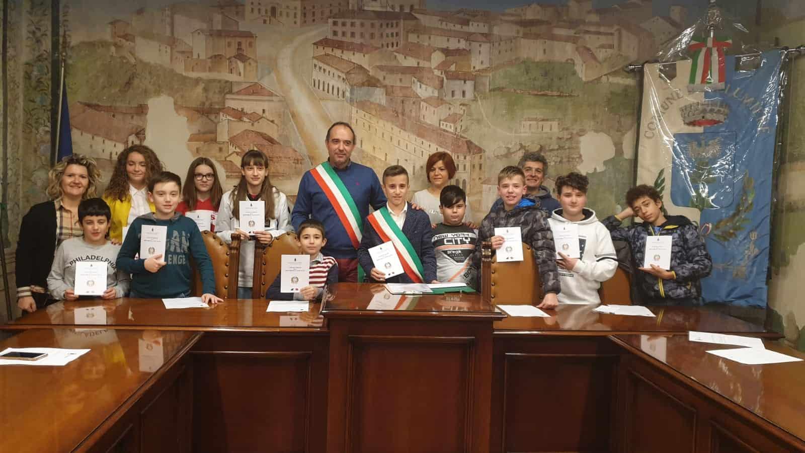 Allumiere, Gian Marco Lisi è il nuovo baby sindaco della città - BaraondaNews