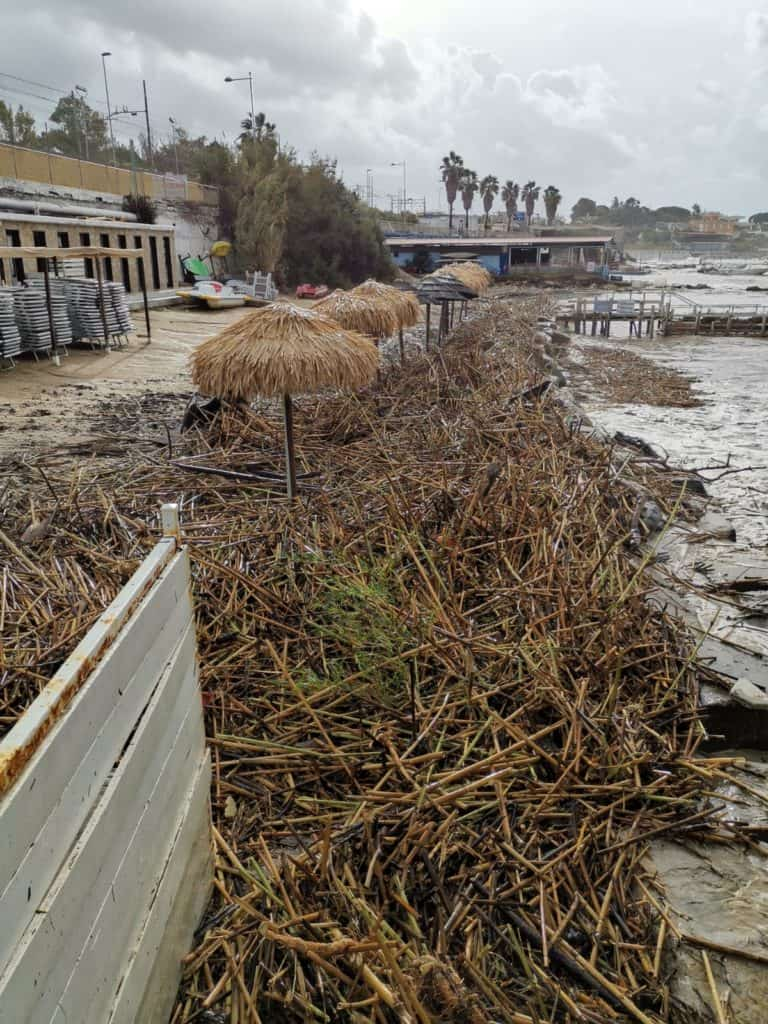 50 le strutture colpite, necessarie la sospensione dei canoni e contrasto all'erosione