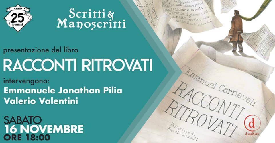 Ladispoli, sabato la presentazione di Racconti Ritrovati - BaraondaNews
