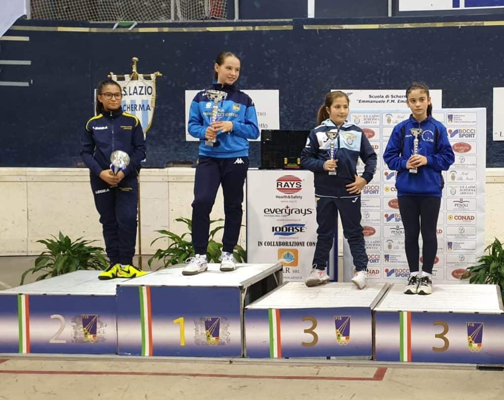 Etruria Scherma Cerveteri ai Campionati Interregionali di Ariccia