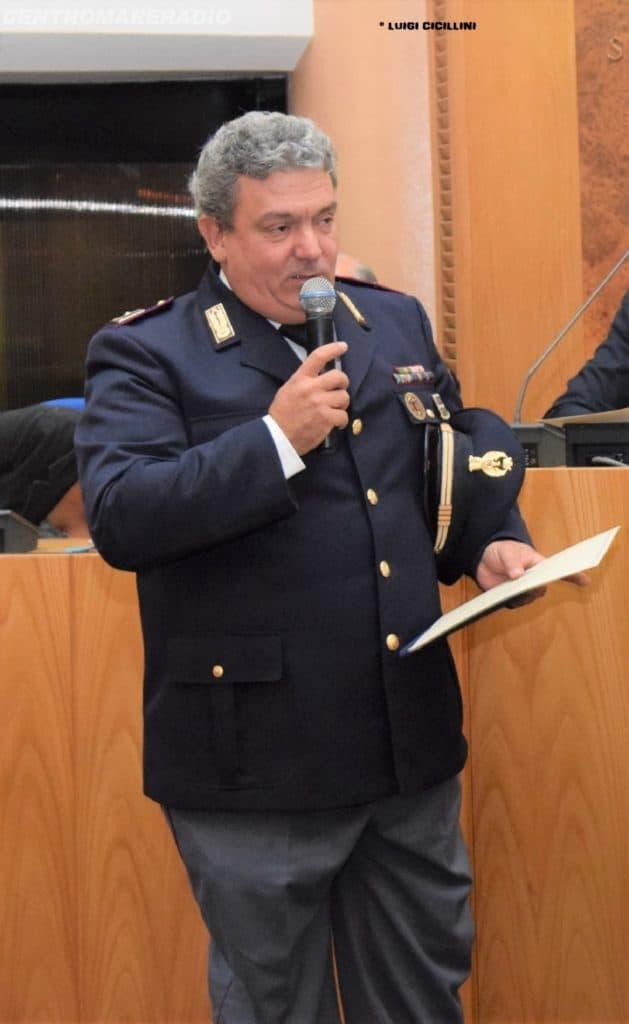 Claudio Paolini, la promozione del comandante della polstrada