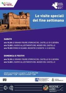 Santa Severa, proseguono le visite speciali del fine settimana al Castello