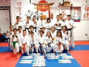 Santa Marinella, il Goshin Karate Dojo fa il bis e partecipa al Festival dell'Oriente a Carrara