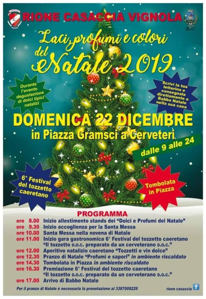 L'evento si svolgerà domenica 22 dicembre in Piazza Gramsci