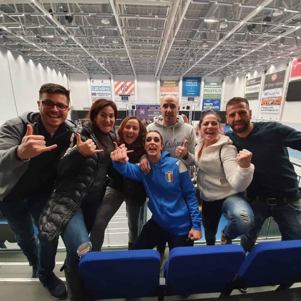 L'atleta di Ladispoli si piazza al 6°posto della competizione Posa Pole Sport World championship
