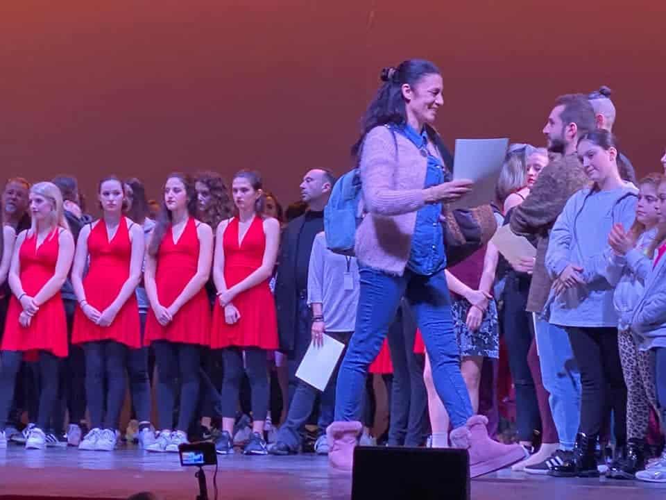 Le allieve di Formazione Danza Mantini alla rassegna coreografica di Patrizia Salvatori