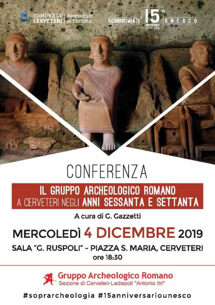Appuntamento per mercoledì 4 dicembre nei locali di Sala Ruspoli