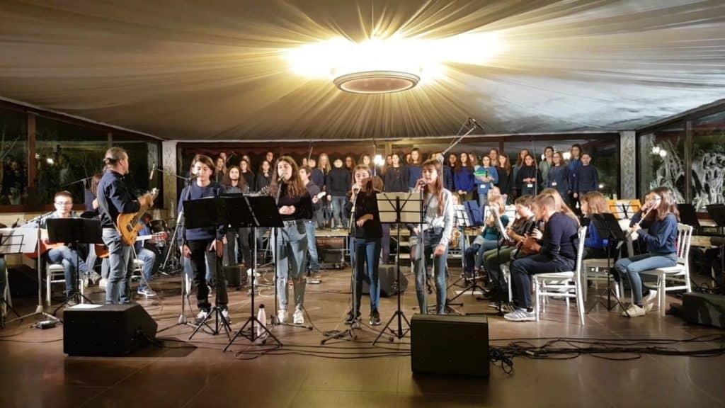 Cerveteri, un grande concerto conclude la settimana di mobilità Erasmus all'I.C. Cena