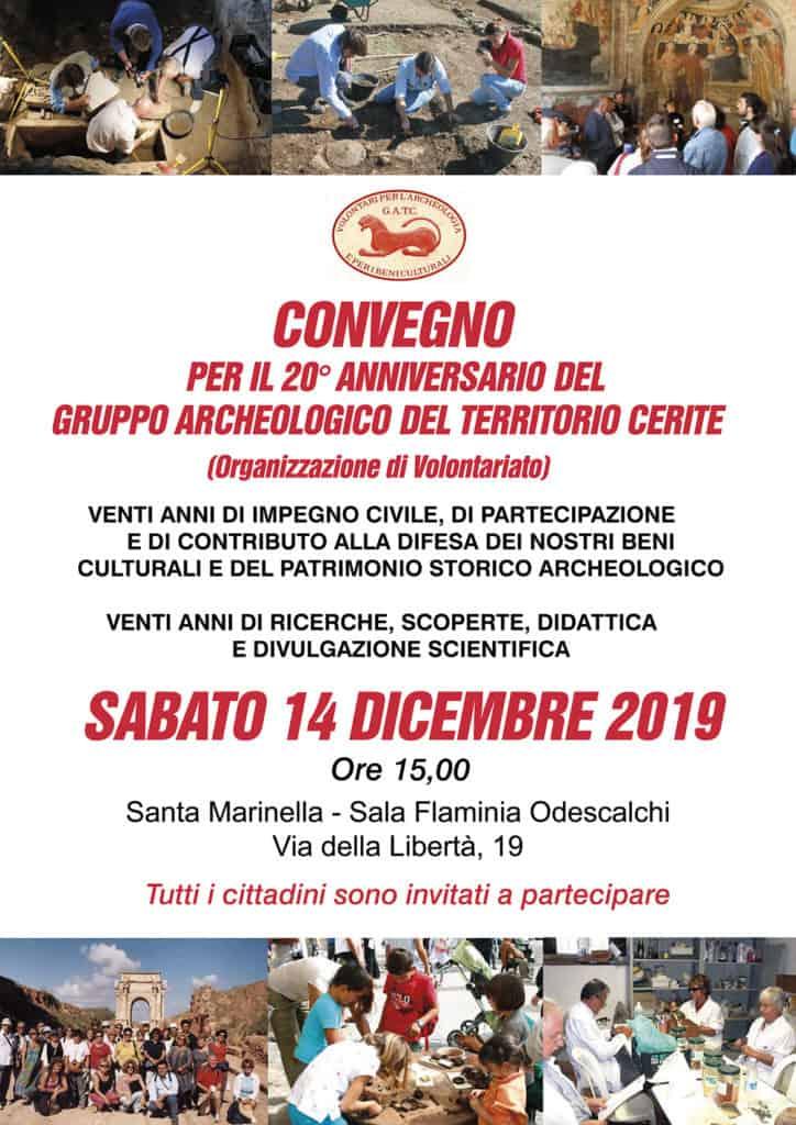 Santa Marinella, sabato 14 il convegno per i 20 anni del GATC