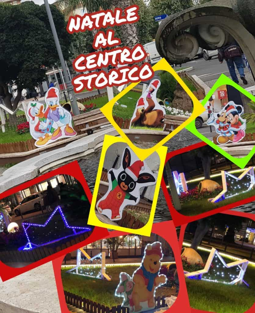 Ladispoli, il centro storico di tinge con i colori del Natale