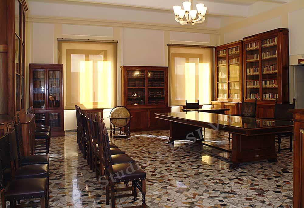 Al Centro di Simulazione e Validazione un tour guidato per far conoscere i siti d'interesse storico come la biblioteca, il museo storico e le cisterne romane