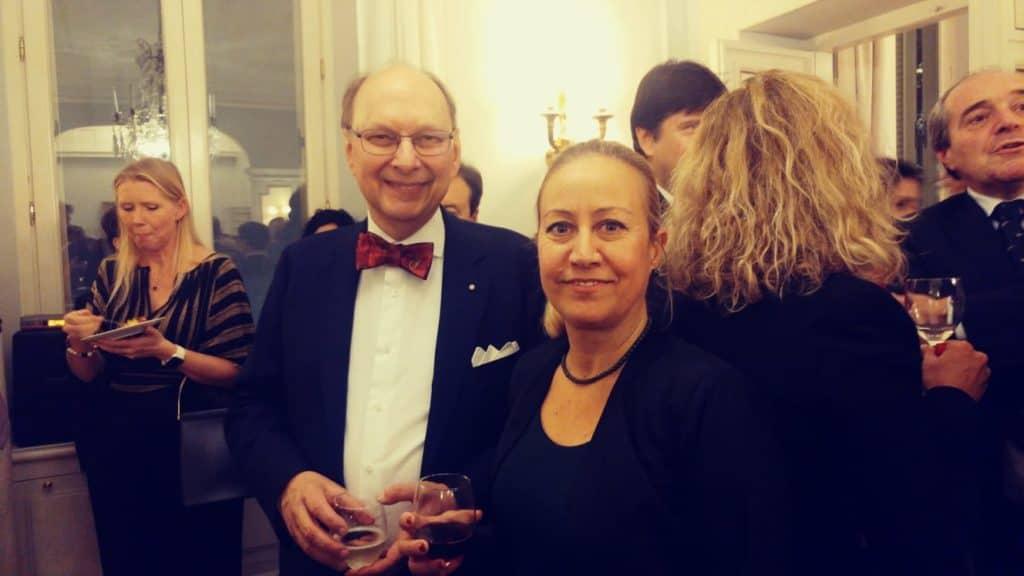 Santa Marinella all'ambasciata di Svezia