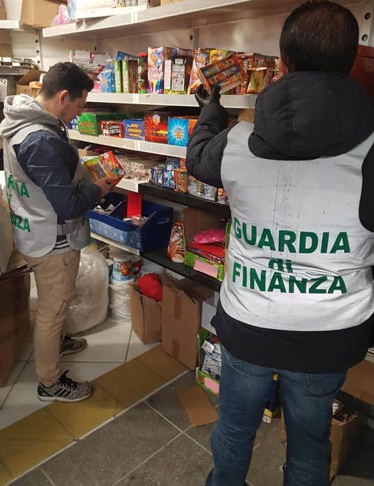 "Provincia di Roma, sequestrati oltre 1.500 chili di ""botti"""