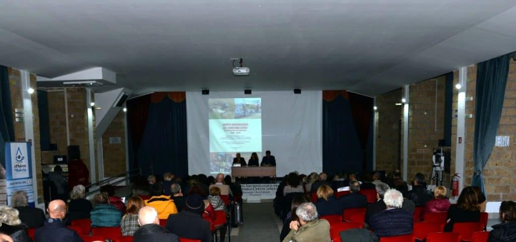 Grande successo del convegno per i 20 anni del gruppo archeologico del territorio cerite