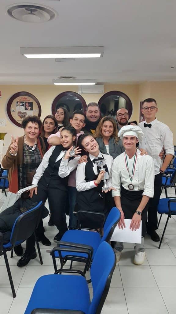 Ladispoli, l'alberghiero trionfa alla Food&Coffee Challenge di Anzio