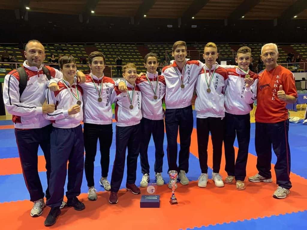 Bronzo tricolore per il Team Karate