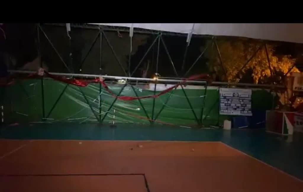 Scoperchiato il pallone di via Firenze, domani incontro al comune di Ladispoli