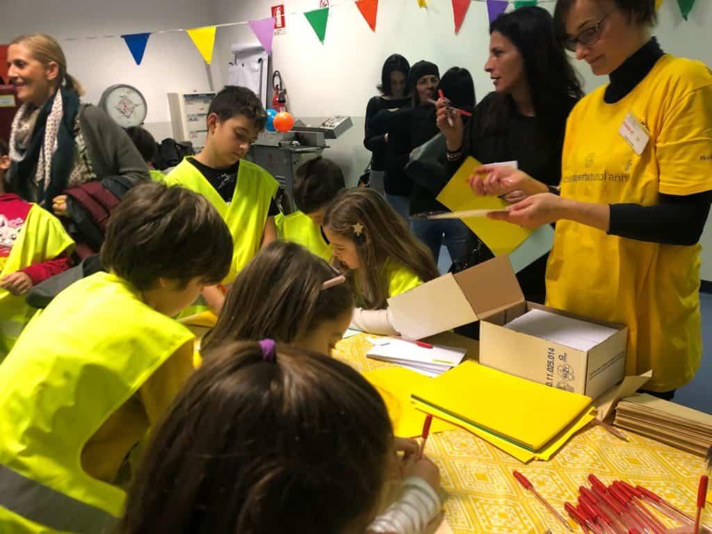 Fiumicino, oltre 60 bambini partecipano all'iniziativa di Poste Italiane 'Posteaperte'