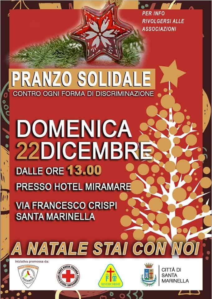 Santa Marinella, domenica un pranzo solidale
