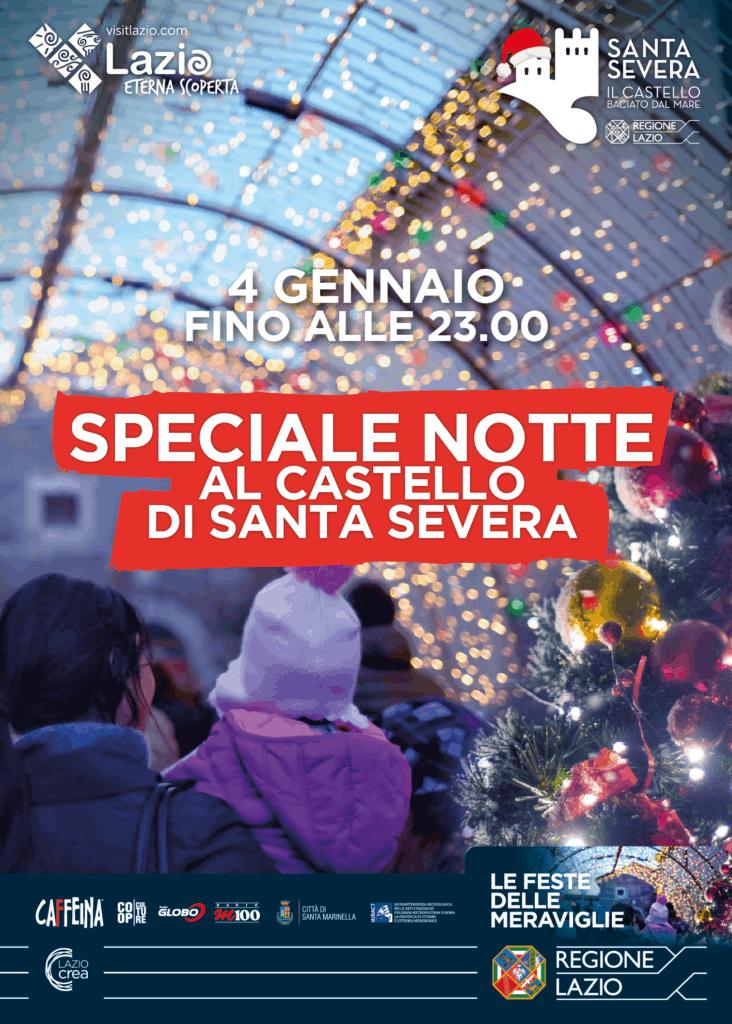 Santa Severa, ultimo fine settimana del villaggio di Natale: record di 21mila presenze