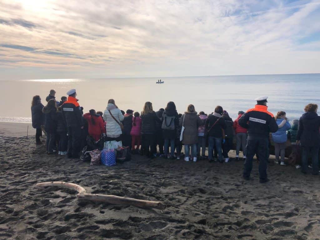 Campagna Plasticfreegc: la Guardia costiera incontra gli studenti di Montalto di Castro