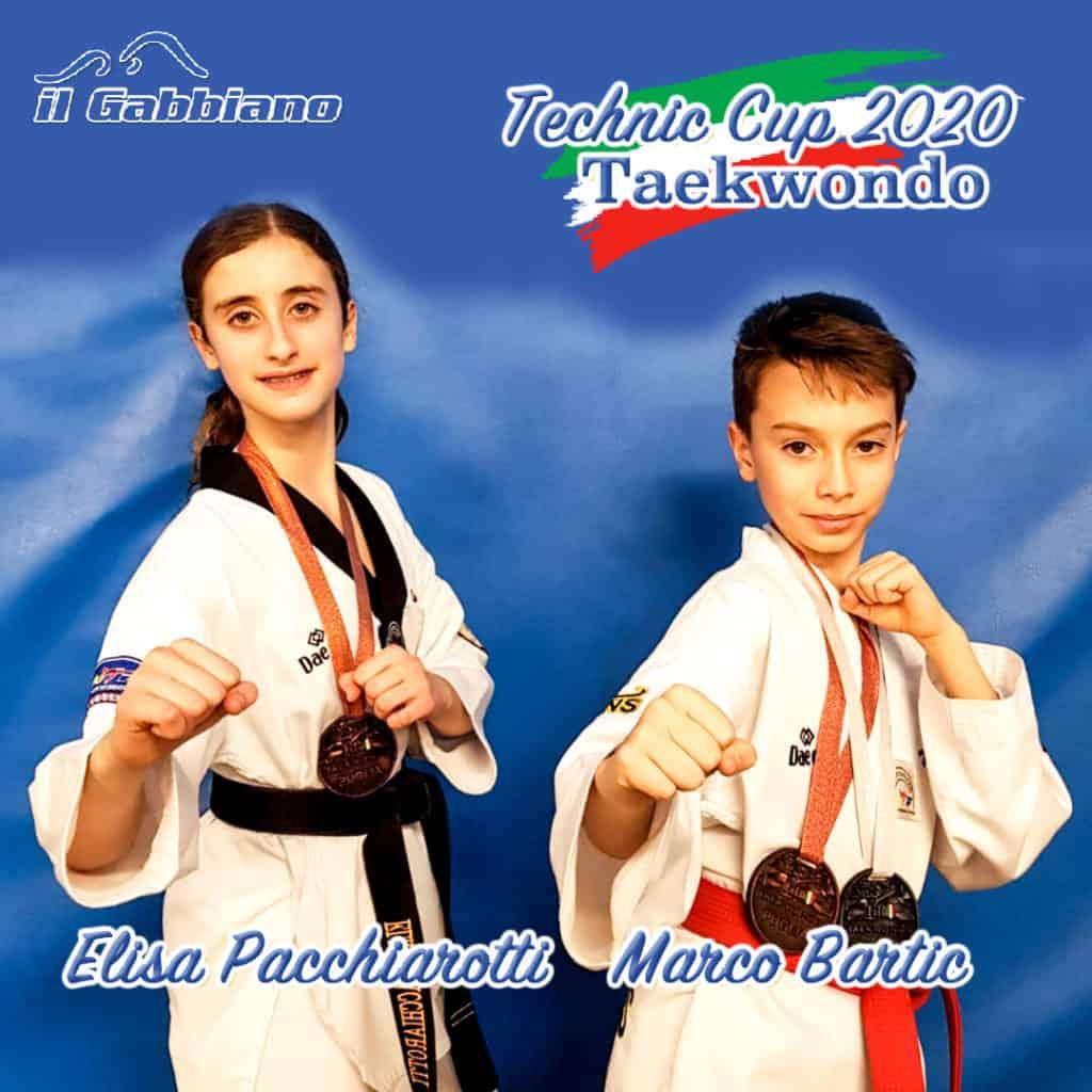 Taekwondo, successo per gli atleti de Il Gabbiano