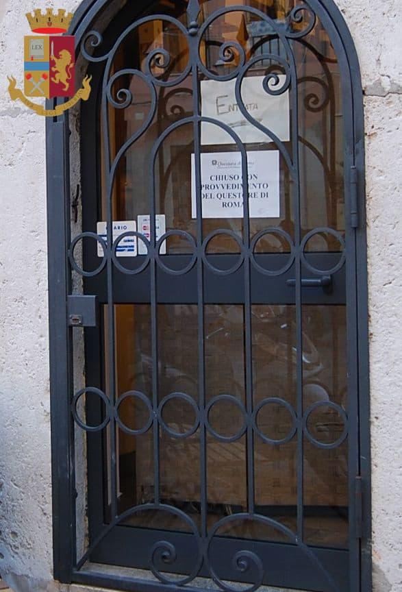 Civitavecchia, chiuso per motivi di sicurezza un locale in Piazza Leandra