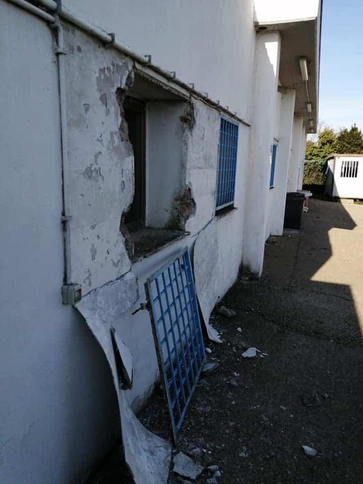 Vandali mettono a soqquadro la sede dell'Asd Anguillara Calcio