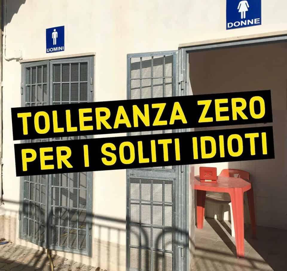 Civitavecchia, Tedesco contro vandali e incivili