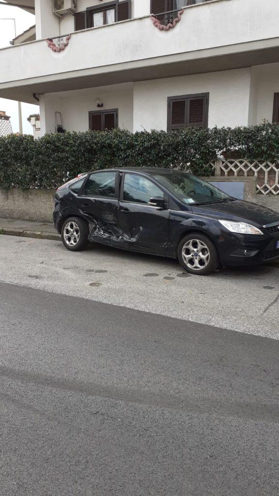 Ladispoli, incidente tra via Latina e via Taranto