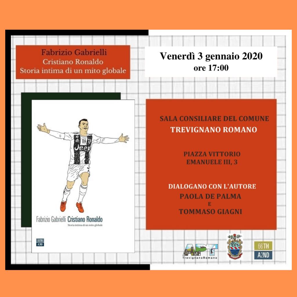 A Trevignano Romano la presentazione del libro su Cristiano Ronaldo