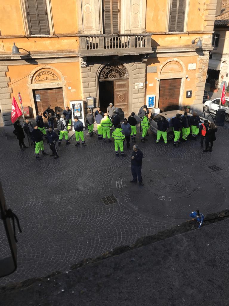 Igiene urbana Cerveteri, congelato lo sciopero