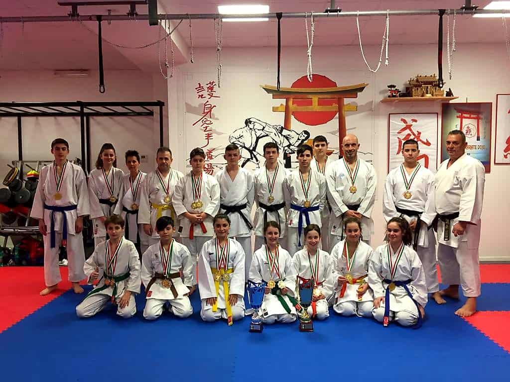 Santa Marinella, la Goshin Karate Dojo