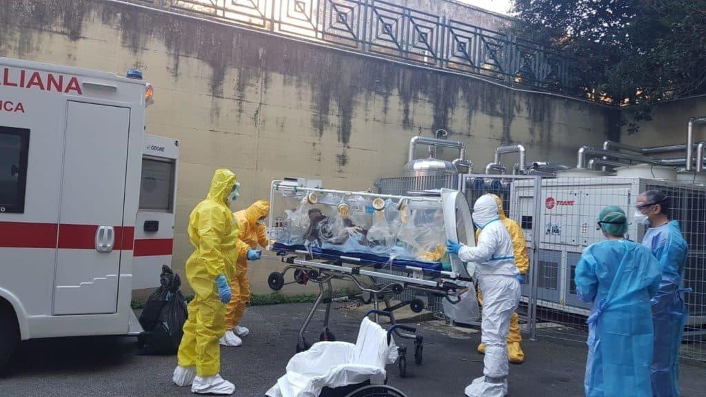 Coronavirus, Niccolò arrivato allo Spallanzani