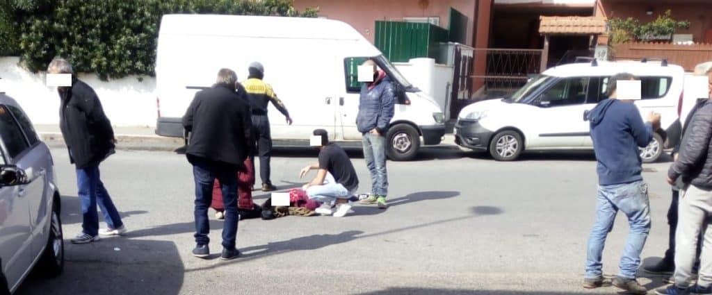 Cerveteri, incidente su via Fontana Morella