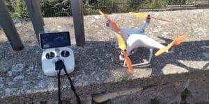 Coronavirus, ad Allumiere un drone quadricottero controllerà il territorio dall'alto