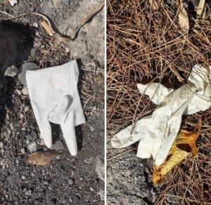 Santa Marinella, l'Ass. Nature Education non si ferma e lancia l'hashtag 'Rifiuti del Covid'