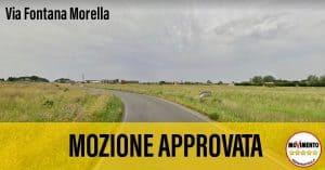 M5S Cerveteri: ''Approvata la nostra mozione su via Fontana Morella e servizio irriguo''