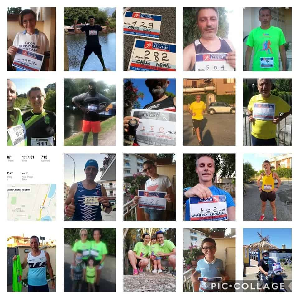 Ladispoli, successo per la Virtual Run, 3° memorial Biagio Tabacchini