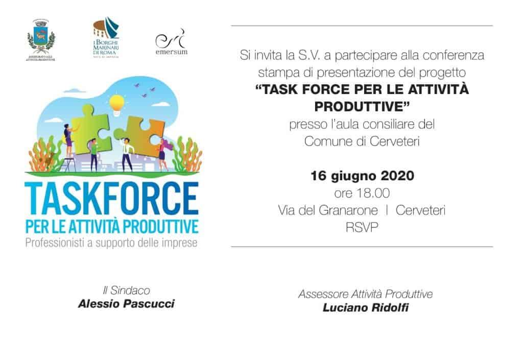 Cerveteri: domani la presentazione della task force per i commercianti