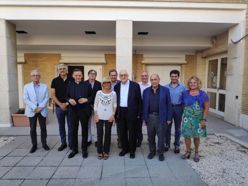 Il CdA della Fondazione Cassa di Risparmio di Civitavecchia saluta e ringrazia il vescovo emerito Marrucci