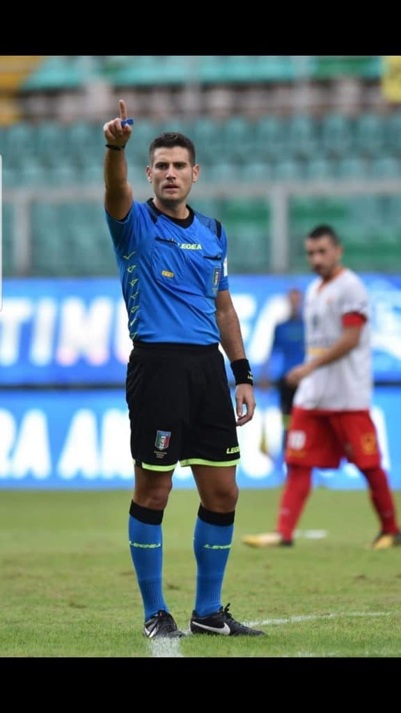 Ladispoli, l'arbitro Andrea Ancora promosso in serie C