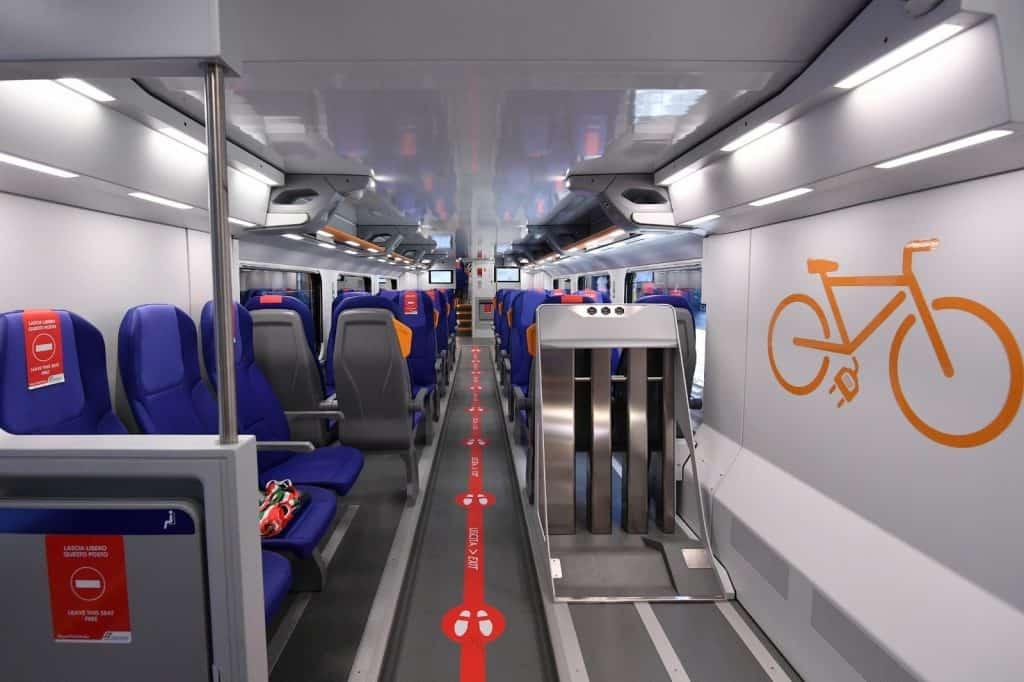 Ferrovie: arriva il primo treno rock di Trenitalia per il Lazio