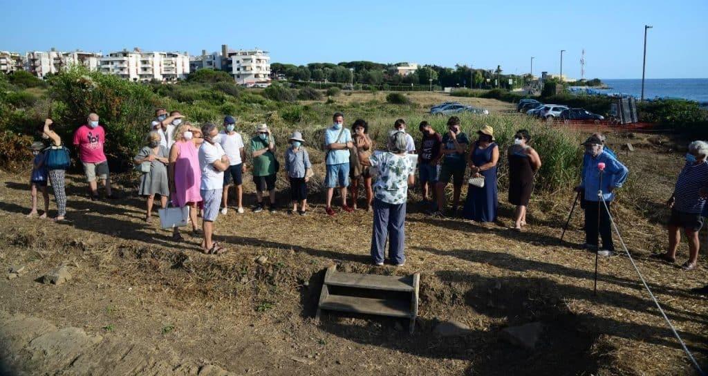 Santa Marinella, successo per la prima visita agli scavi di Castrum Novum
