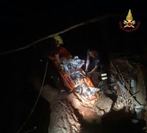 Cade nel fiume Aniene: 24enne soccorsa dai Vigili del Fuoco